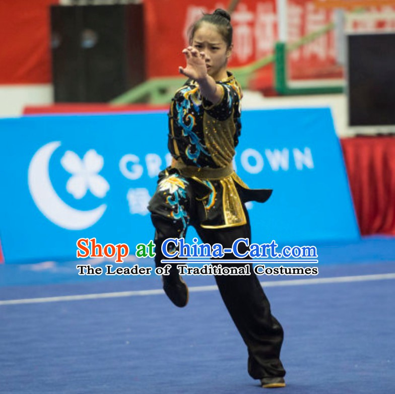 63f600158 Supreme Custommade Nanquan Competition Uniforms Kung Fu Suit Kung Fu Uniform  Chinese Jacket Taiji Clothes Dress